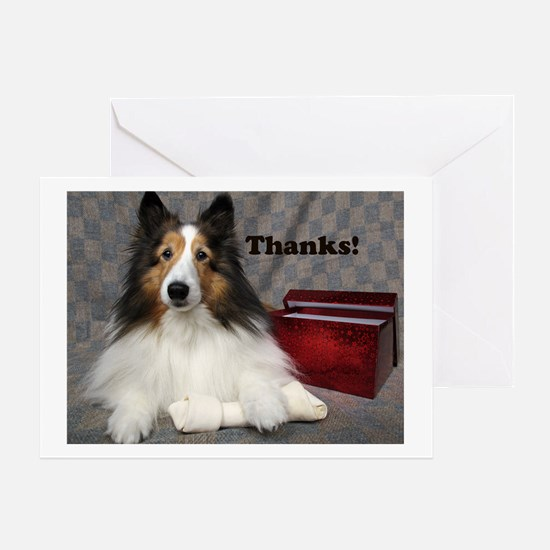 Cute Shelties only shop Greeting Card