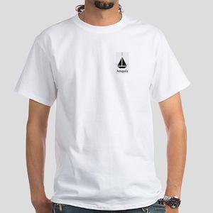 I Sail White T-Shirt, Annapolis