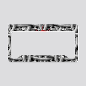 Yin Yang Twisted Metal License Plate Holder