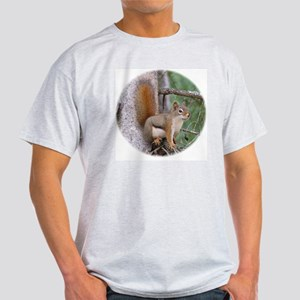 Red Squirrel II Ash Grey T-Shirt
