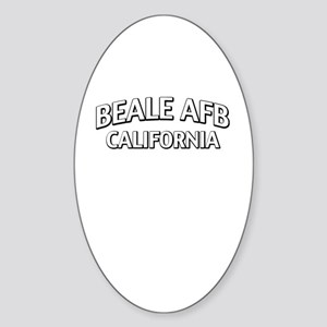 Beale AFB California Sticker (Oval)