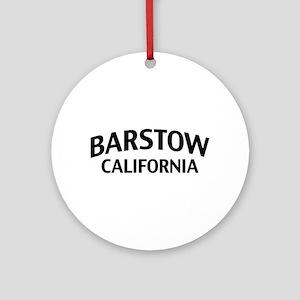 Barstow California Ornament (Round)