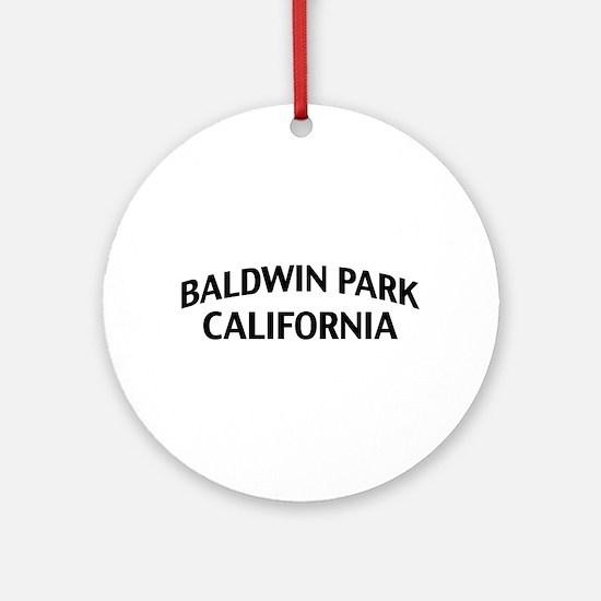 Baldwin Park California Ornament (Round)