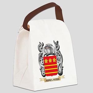 Ahmelmann Family Crest - Ahmelman Canvas Lunch Bag