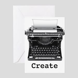 Createtypewriter Greeting Cards