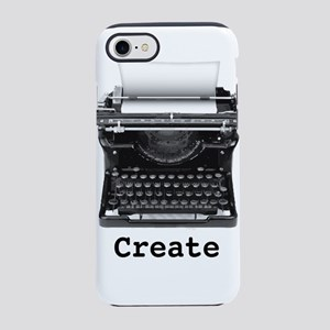 Createtypewriter iPhone 7 Tough Case