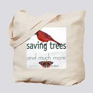 Saving Trees Tote Bag