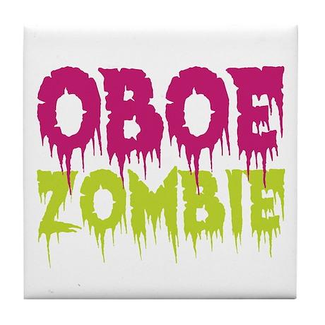 Oboe Zombie Tile Coaster