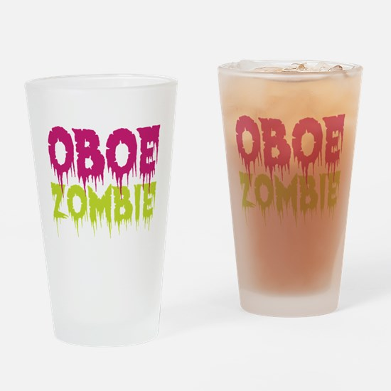 Oboe Zombie Drinking Glass