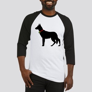 Christmas or Holiday German Shepherd Silhouette Ba