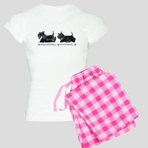 Scottie Squirrel Patrol Terri Women's Light Pajama