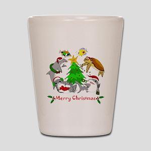 Christmas 2011 Shot Glass