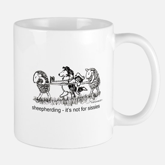 Sheepherding Sissies/Sheltie Mug