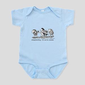 Sheepherding Sissies/Sheltie Infant Bodysuit