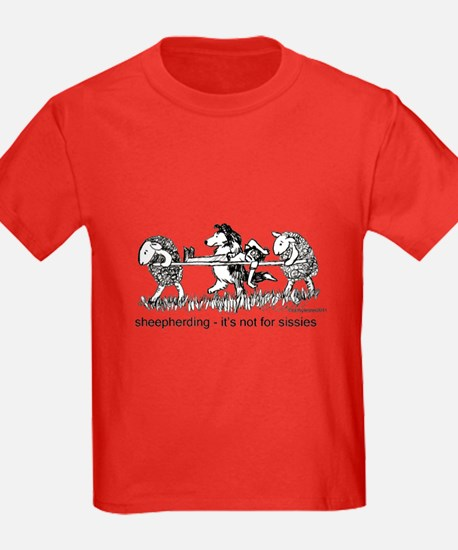 Sheepherding Sissies/Sheltie T