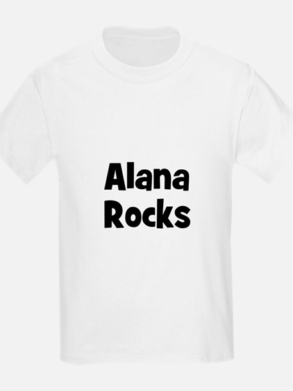 Alana Rocks Kids T-Shirt