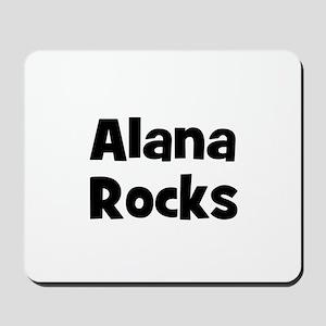 Alana Rocks Mousepad