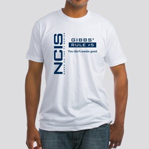 NCIS Gibbs' Rule #5 Fitted T-Shirt