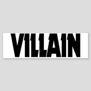 Villain Sticker (Bumper)