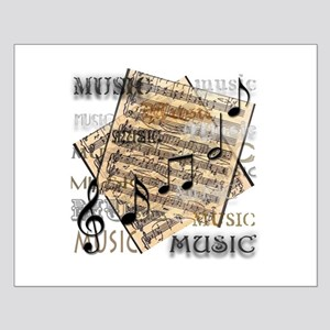 Vintage Music Small Poster