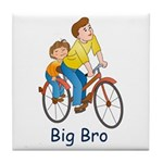 Brothers Tile Coaster