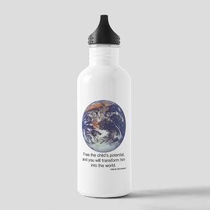 Montessori World Stainless Water Bottle 1.0L
