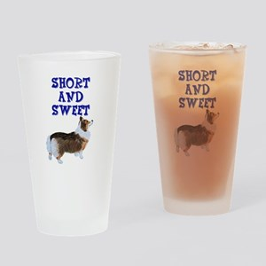 Short and Sweet tri Drinking Glass