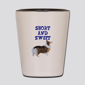 Short and Sweet tri Shot Glass