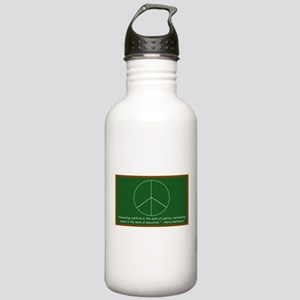 Montessori Peace Stainless Water Bottle 1.0L