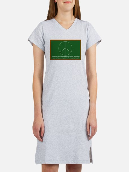 Montessori Peace Women's Nightshirt