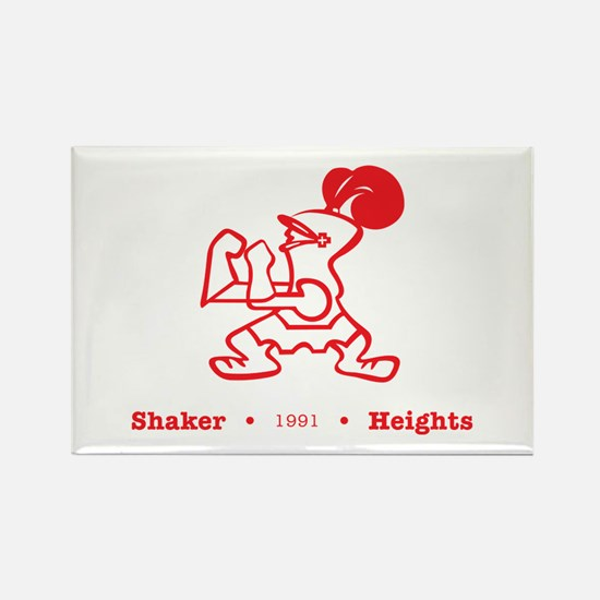 Cute Shaker heights Rectangle Magnet