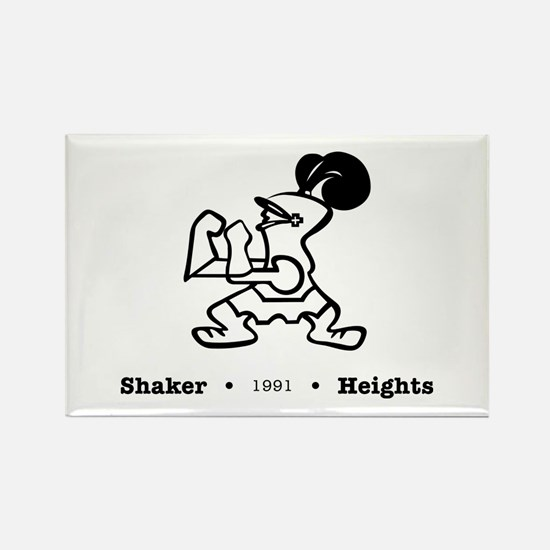 Funny Shaker heights Rectangle Magnet