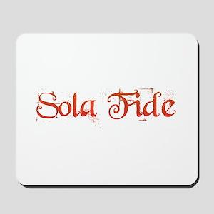 Sola Fide Mousepad