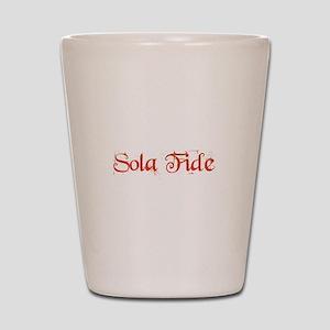 Sola Fide Shot Glass