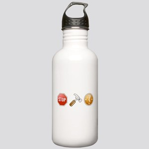 Stop - Hammer - Time Stainless Water Bottle 1.0L