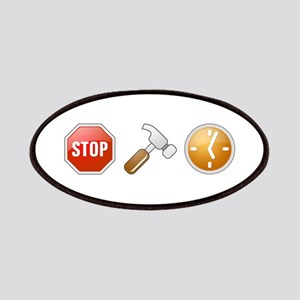 Stop - Hammer - Time Patches