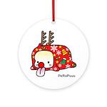 Xmas PeRoPuuu Ornament (Round)