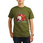 Xmas PeRoPuuu Organic Men's T-Shirt (dark)