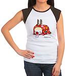 Xmas PeRoPuuu Women's Cap Sleeve T-Shirt