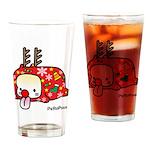 Xmas PeRoPuuu Drinking Glass
