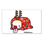 Xmas PeRoPuuu Sticker (Rectangle 50 pk)