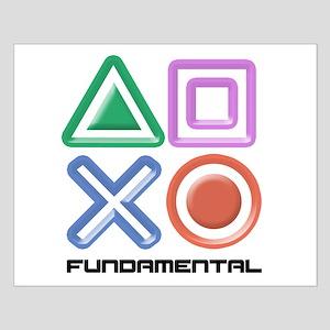 Fundamental Game Symbols Small Poster