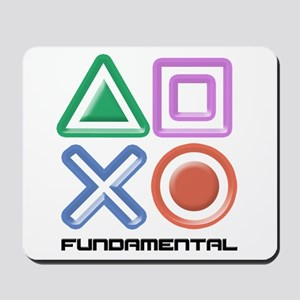 Fundamental Game Symbols Mousepad
