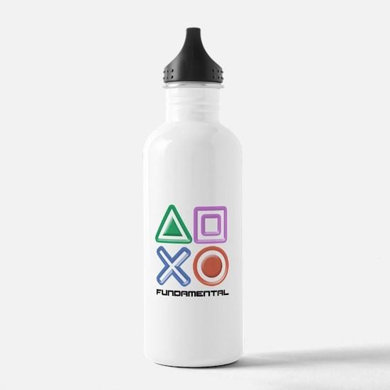 Fundamental Game Symbols Water Bottle