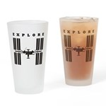 ISS / Explore Drinking Glass