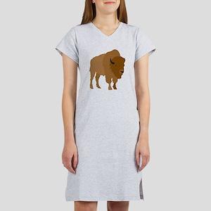Buffalo Women's Nightshirt