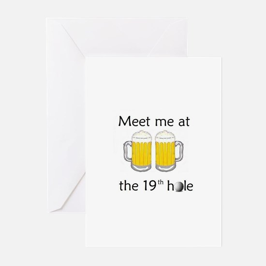 19th Hole Greeting Cards (Pk of 10)