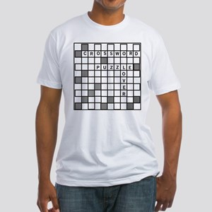 Crossword Puzzle Fitted T-Shirt