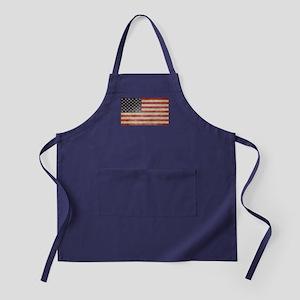 US Faded Flag Apron (dark)