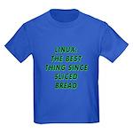 Linux: Sliced bread Kids Dark T-Shirt